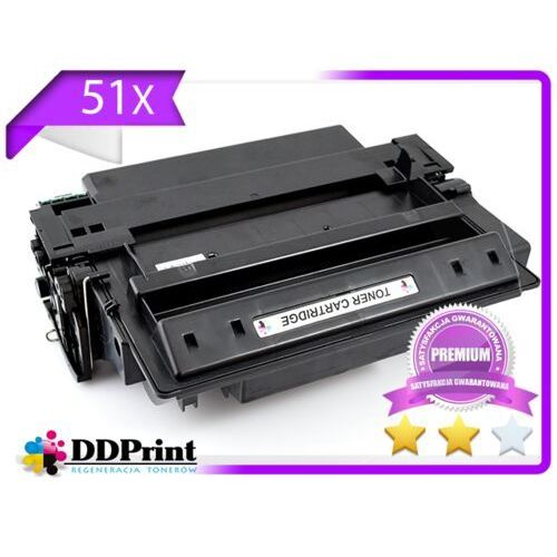 Toner 51X- Q7551X do HP LaserJet P3005, M3027, M3035 - Premium 12K - Zamiennik