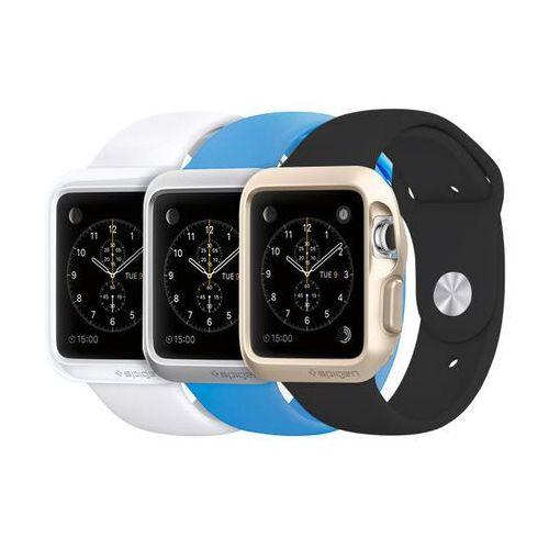 Spigen Etui slim armor apple watch 42 mm white - biały (8809404218927)