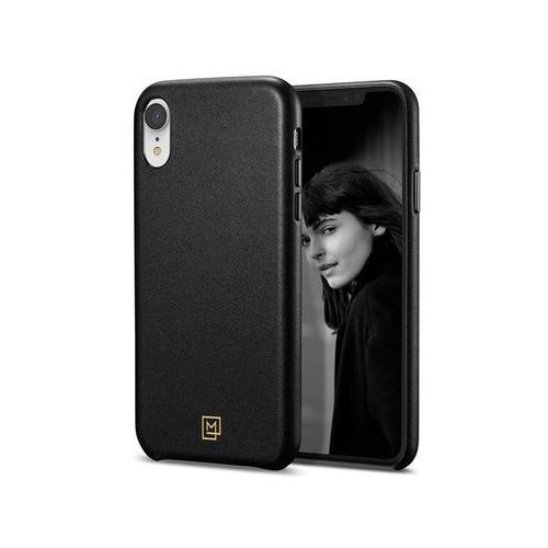 Spigen Etui la manon calin iphone xr chick black - czarny (8809613765830)