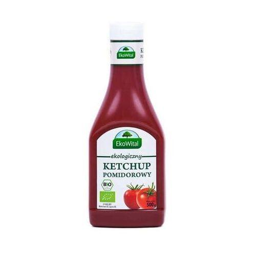 Ketchup pomidorowy bio 500 g marki Ekowital