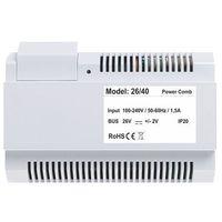 P26/40 Zasilacz 26 V 1,5A dedykowany do systemów wideodomofonowych dwuprzewodowych Vidos