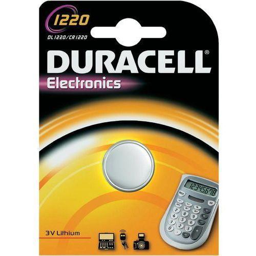 bateria litowa mini Duracell CR1220 - sprawdź w wybranym sklepie