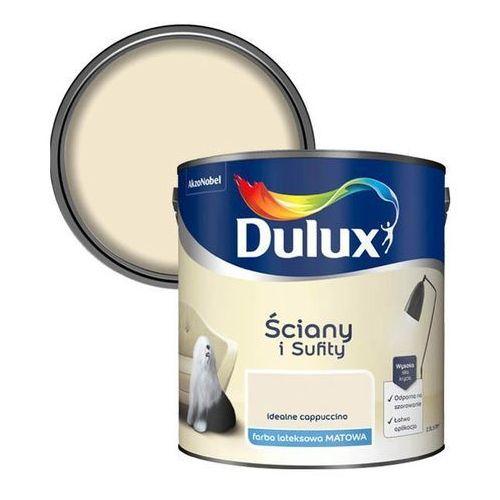 Farba Dulux Ściany i Sufity idealne cappuccino 2,5 l