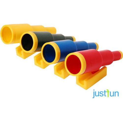 Teleskop lux - niebiesko-pomarańczowy marki Just fun