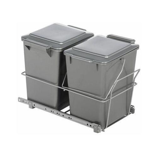 Kosz na śmieci PODWÓJNY 2 x 12 l (5907520711759)