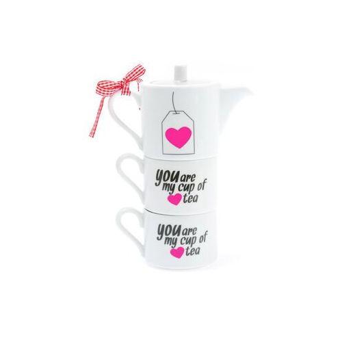 Zestaw do herbaty You Are My Cup Of Tea, set
