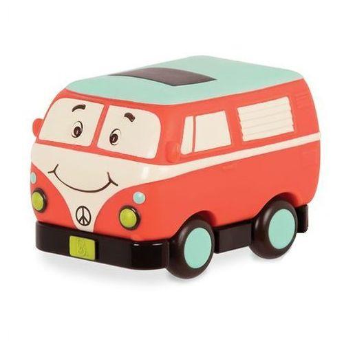 Autko Mini Wheeee-ls B.Toys - Bus 'Ogórek' BX1502Z, BX1502Z