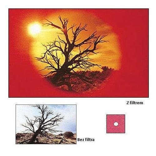 Cokin P078 Filtr Center Spot WA czerwony systemu Cokin P, P078