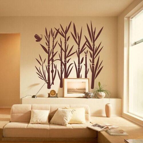 Naklejka welurowa bambus 1046 marki Wally - piękno dekoracji