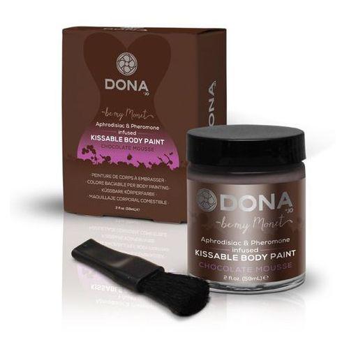 Farba do ciała - Dona Body Chocolate Mousse 60 ml Czekoladowa