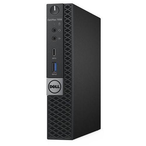 Dell Optiplex 7050 mff i7-7700t 8gb 256gb_ssd dvd_rw vpro w10pro 3ynbd n022o7050mff02 - odbiór w 2000 punktach - salony, paczkomaty, stacje orlen