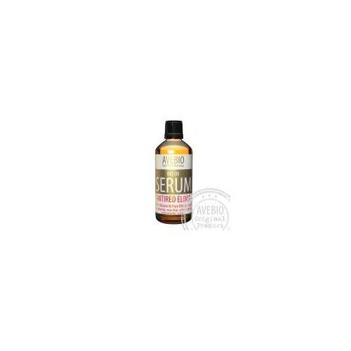 Avebio manufaktura kosmetyków naturalnych Avebio - naturalne serum - cera naczynkowa i trądzik różowaty - bio oil antired elixir