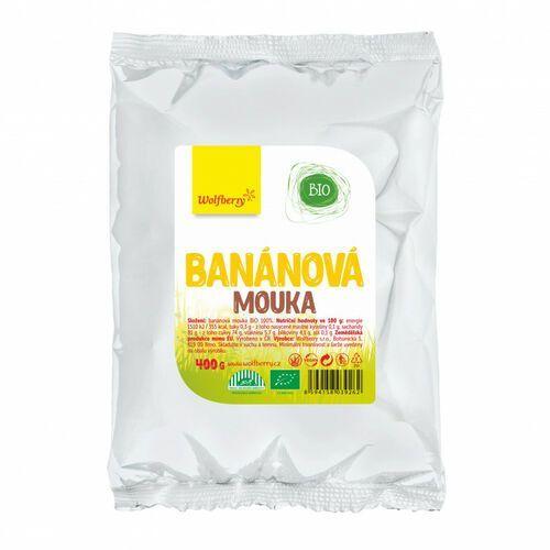 Wolfberry BIO Mąka bananowa 400 g