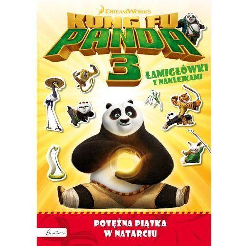 Kung Fu Panda 3. Potężna Piątka w natarciu. Łamigłówki z naklejkami, praca ziorowa