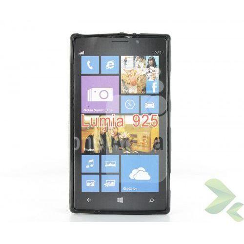 Geffy - Etui Nokia Lumia 925 TPU solid color black