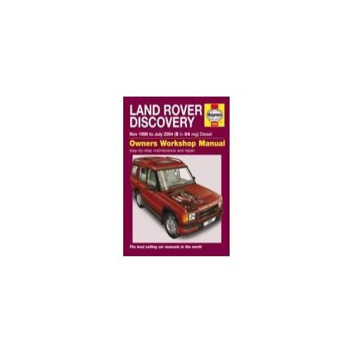 Land Rover Discovery Service and Repair Manual (9780857339515)