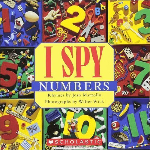 I spy little numbers (059068714x)