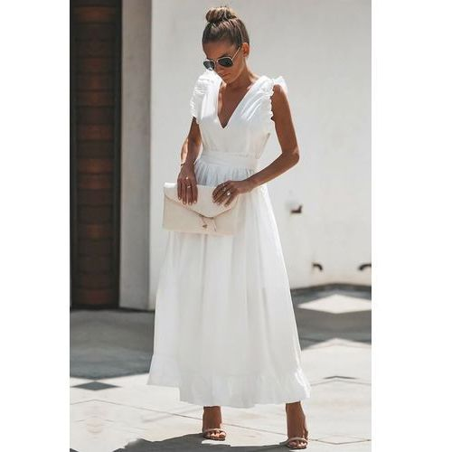 Sukienka BELISIA WHITE