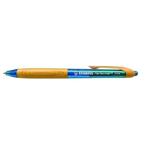 Długopis STABILO Performer+ niebieski/pomarańczowy 328/3-41-2