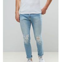 Brooklyn supply co bleach wash skinny dumbo jeans - blue, Brooklyn supply co.