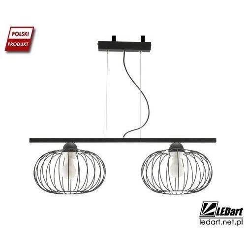 Lampa wisząca LED druciana podwójna
