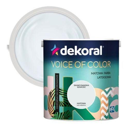 Farba Dekoral Voice of Color skandynawska szarość 2,5 l (5904000030768)