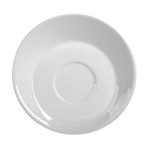 Spodek porcelanowy do filiżanki skośnej kubiko/fala marki Ambition