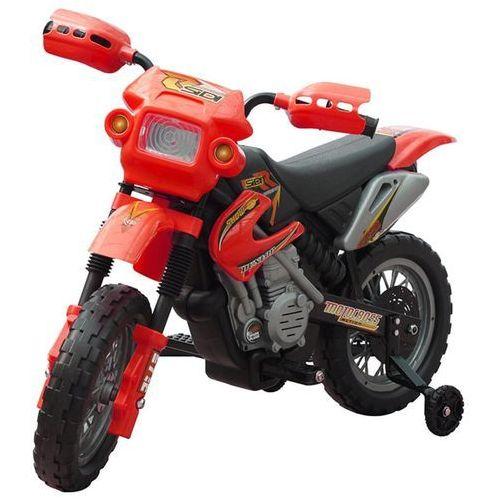 Vidaxl motorek elektryczny dla dzieci (czerwony) (8718475809999)