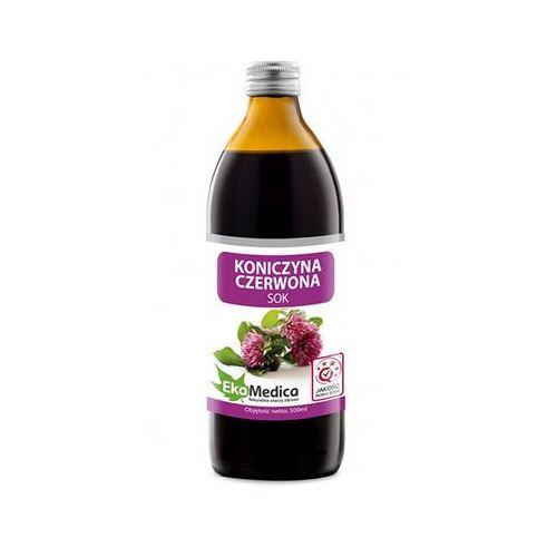 OKAZJA - Sok z koniczyny czerwonej 99,8% bez cukru 500ml (napój)