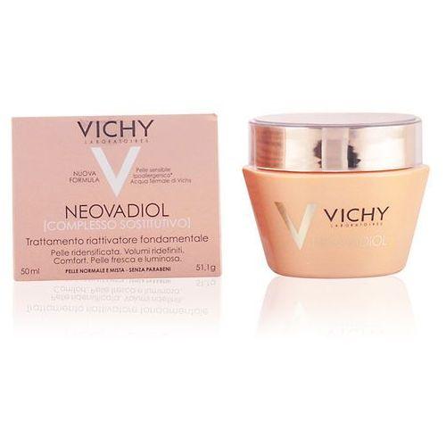 neovadiol compensating complex żel-krem remodelujący o natychmiastowym działaniu do cery normalnej i mieszanej (desinty and defined skin contour marki Vichy