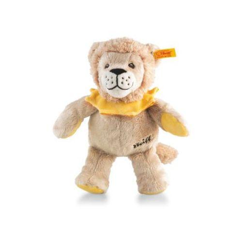 Steiff Maskotka Lew Leon, 22 cm, kolor beżowo-żółto-pomarańczowy, kup u jednego z partnerów