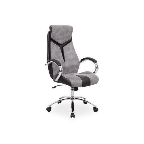 Fotel obrotowy, krzesło biurowe q-165 grey marki Signal