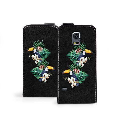 Samsung Galaxy S5 Mini - etui na telefon Flip Fantastic - tukany, ETSM119FLFCEF015000