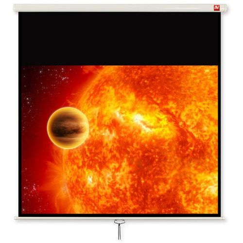 Ekran ścienny 200x200cm video 200 - matt white (ramki + top 49,5 cm, obraz 196x146,5cm) marki Avtek