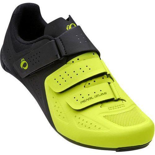 PEARL iZUMi Select Road V5 Buty Mężczyźni zielony/czarny 45 2018 Buty rowerowe