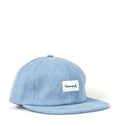 czapka z daszkiem DIAMOND - Og Script 6 Panel Hat - Sc Light Wash (LTWS) rozmiar: OS