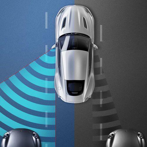 Baseus Blind-spot Mirror dodatkowe samochodowe lusterko boczne martwe pole punkt czarny (ACFZJ-01) (6953156213340)