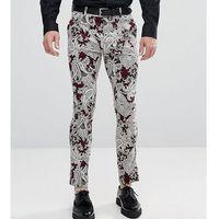 Reclaimed vintage inspired super skinny trousers - purple