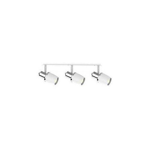 Zuma line poso ck180610-3 listwa lampa sufitowa spot 3x40w e14 srebrny/biały