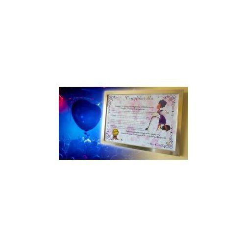 Certyfikat przyszłej żony DE LUX + zadania na wieczór panieński