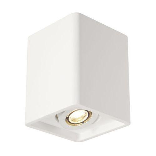 lampa sufitowa PLASTRA BOX 1 gipsowa, SPOTLINE 148051