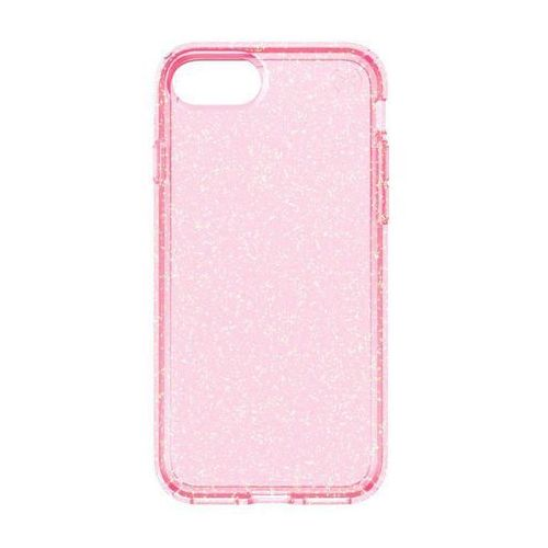 Speck Presidio Clear with Glitter - Etui iPhone 7 (Rose Pink/Gold Glitter), 79989-5978