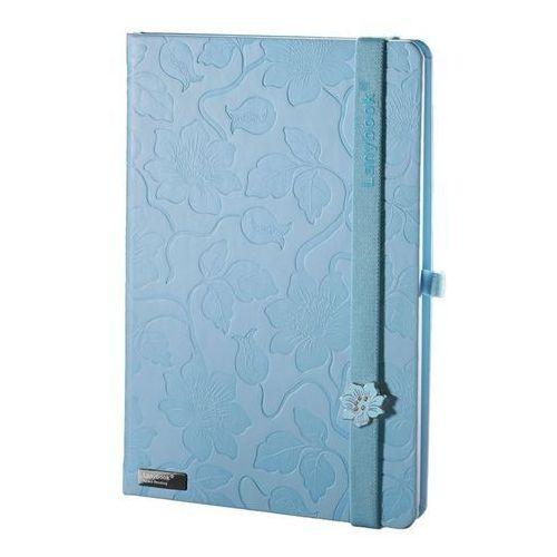 Notes A5 Lanybook Innocent Passion w kratkę niebieski (8057432195233)