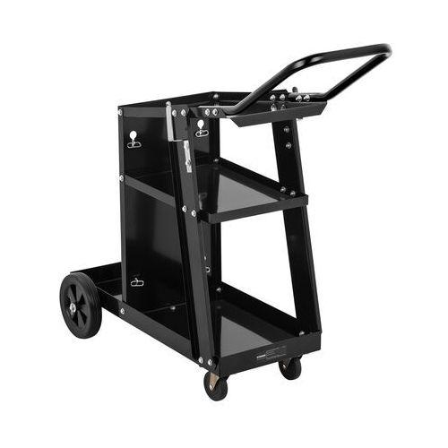 Stamos welding group wózek spawalniczy - 3 półki - 80 kg - rączka swg-wc-3 - 3 lata gwarancji