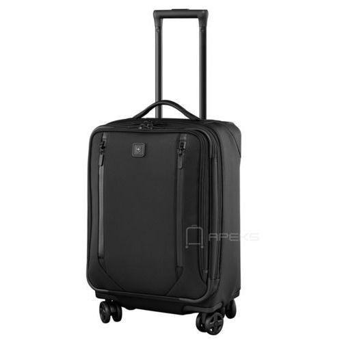 """Victorinox lexicon 2.0 mała poszerzana walizka kabinowa 29/56 cm na laptopa 17"""" i tablet 10'' / czarna - black"""