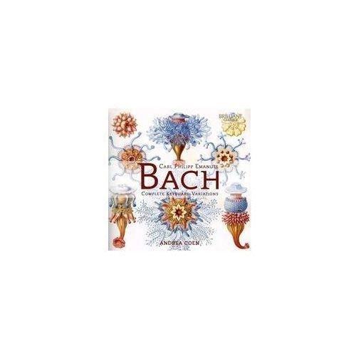 Bach complete keyboard variations marki Brilliant classics