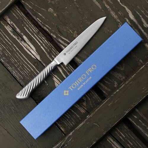 Nóż stalowy 12 cm uniwersalny tojiro pro vg-10 (f-883) (4960375138837)