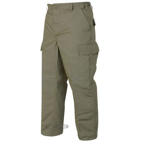 Spodnie Tru-Spec Classic BDU Pants 65/35 Polyester/Cotton Rip-Stop Black - 1318 - OD green, kolor zielony