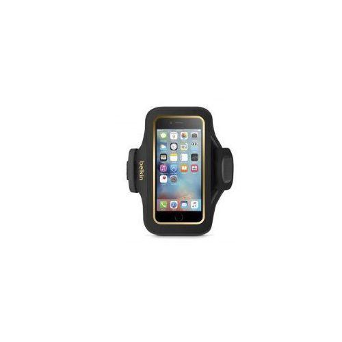 Etui Opaska na ramię Belkin Slim-Fit Plus iPhone 6 / 6s, czarno złote z kategorii Futerały i pokrowce do telefonów