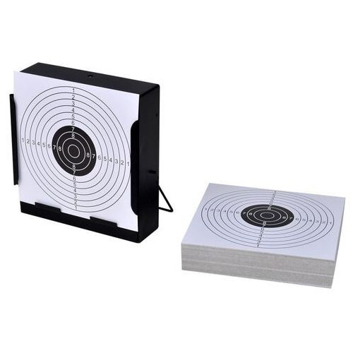 vidaXL Tarcza strzelecka 14cm + tarcze papierowe x 100 (8718475916642)